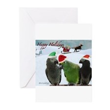 Cute Pet / Happy Holidays s Greeting Cards