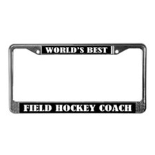 Field Hockey Coach License Plate Frame