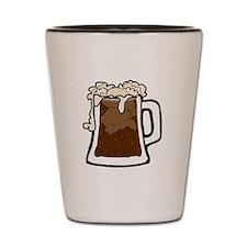 Root Beer Float Shot Glass