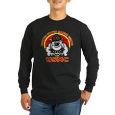 usmc marines bulldog-4 Long Sleeve T-Shirt