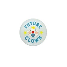 Future Clown Mini Button (10 pack)