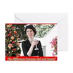 God Or Santa Greeting Cards 20