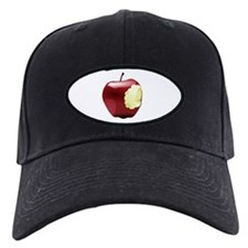 Apple with a bite Baseball Hat
