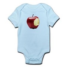 Apple with a bite Infant Bodysuit