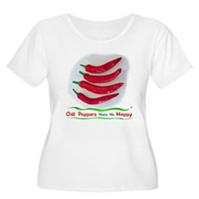 Chili Peppers Make Me Happy T-Shirt