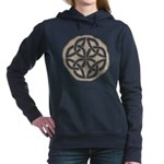 Celtic Knotwork Coin Hooded Sweatshirt