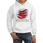 Chili Peppers Make Me Happy Hooded Sweatshirt