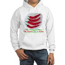 Chili Peppers Make Me Happy Hoodie