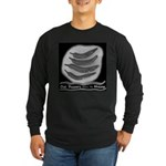 Chili Peppers Make Me Happy Long Sleeve Dark T-Shi
