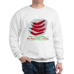Chili Peppers Make Me Happy Sweatshirt