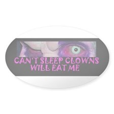 Clown Eat Decal