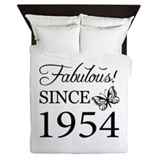 Fabulous Since 1954 Queen Duvet