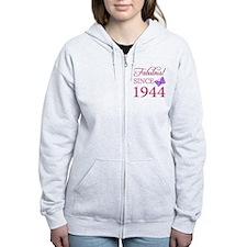 Fabulous Since 1944 Zip Hoodie