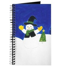 Winter Snowman Journal