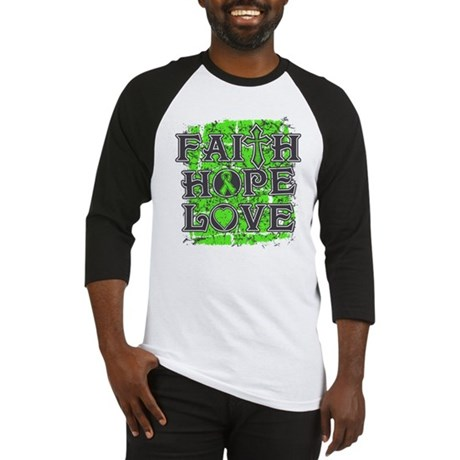 Lymphoma Faith Hope Love Baseball Jersey