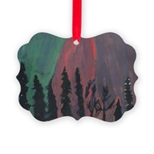 Forrest Colors Picture Ornament
