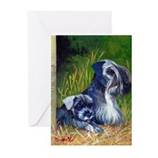 Cesky Terrier Dog Greeting Cards