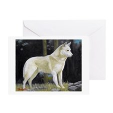 Canaan Dog Greeting Cards