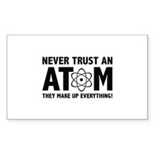 Never Trust An Atom Decal