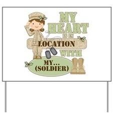Christmas Soldier Yard Sign