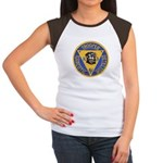 New Jersey State Police K-9 Women's Cap Sleeve T-S