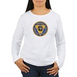 New Jersey State Police K-9 Women's Long Sleeve T-
