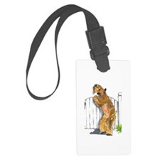 Cute Wheaton Luggage Tag