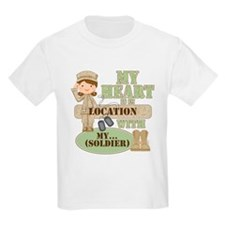 Heart With Soldier T-Shirt