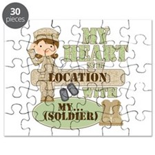 Heart With Soldier Puzzle