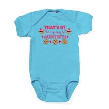That's it! I'm going to Auntie's! Baby Bodysuit