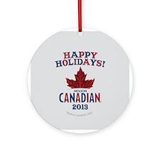 Molson Holiday Round Ornament 2013