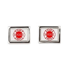 Chicago Firedepartment Cufflinks
