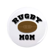 "Rugby Mom 3.5"" Button"