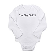 The Dog Did It! Body Suit