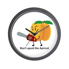 Don't Upset The Apricot Wall Clock