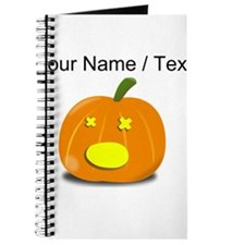 Custom Dead Jackolantern Journal