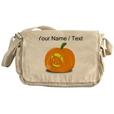 Custom Android Jackolantern Messenger Bag