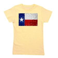 Texas Flag Distressed Girl's Tee