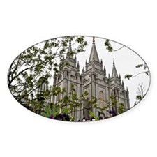 Salt Lake Temple Spring Decal