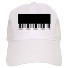 Piano Key Baseball Baseball Cap