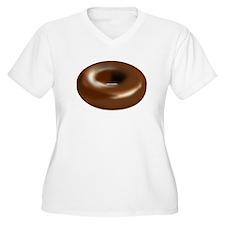 Chocolate Donut Plus Size T-Shirt