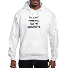 Feed me Korean Food Hoodie