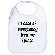 Feed me Queso Bib