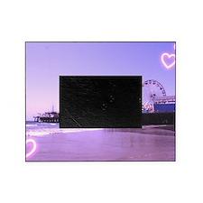Purple Hearts Pier Picture Frame