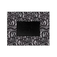 Black Lace Picture Frame