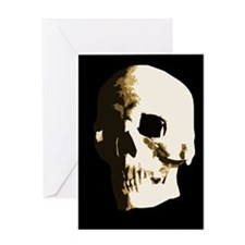 Memento Mori Skull Greeting Card Greeting Cards