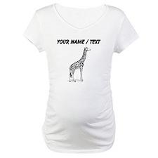Custom Giraffe Sketch Shirt