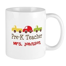 Personalized Preschool Teacher Coffee Mugs