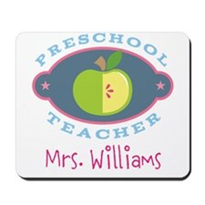 Personalized Preschool Teacher gift Mousepad