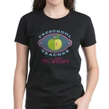 Personalized Preschool Teacher gift T-Shirt